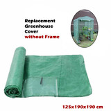 125x190x190 cm Replacement Greenhouse Cover Garden Shed69 Plant Storage