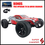 New SRC RC 2.4Ghz 4WD 1/10 Brushless Electric RTR Off-Road Truggy