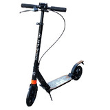 Hand Break Design Big Wheels Push Scooter 200mm Adult Child Commuter gift New