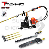 Tmaxpro 58Cc 2In1 Backpack Pole Chainsaw Hedge Trimmer Garden Tool