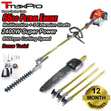 Tmaxpro Pole Chainsaw Hedge Trimmer Pruner Chain Saw Brush Tree Cutter 65Cc 2 Stroke