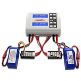 Ultra Power UP200 DUO AC DC 2X100W Lipo Battery Balance Charger