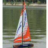 Legend Wind Power 1840Mm Racing Sailboat Yacht Rc Remote Control Boat
