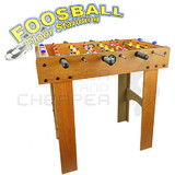 Kids Fun Floor Standing Wooden Mini Soccer FOOSBALL SOCCER TABLE Game