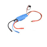 Ft012 Rc Racing Boat Water Cooling Esc With Dean Plug Cable